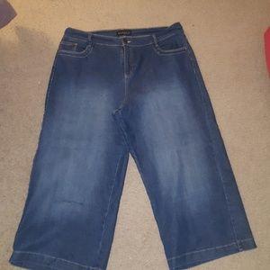 Eloquii Jeans - Denim culottes